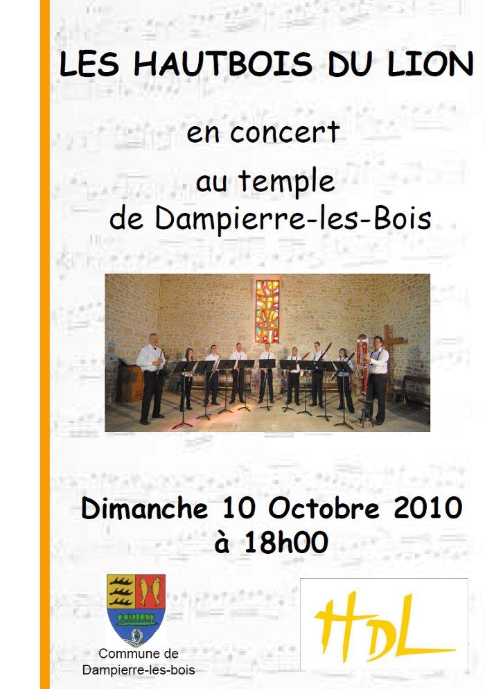 Concert Dampierre # Dampierre Les Bois